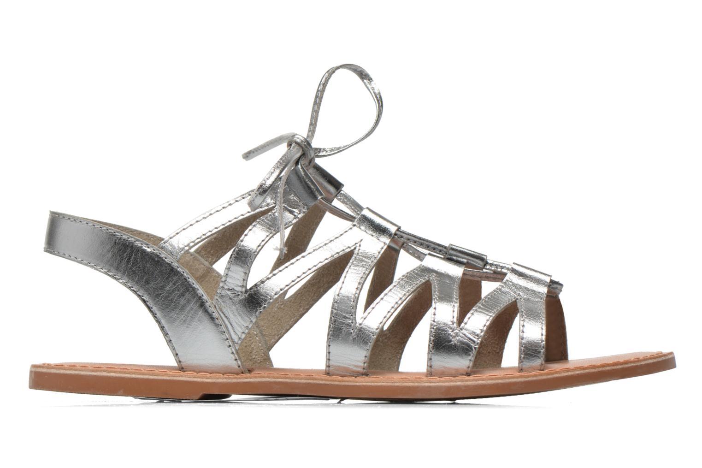Sandales et nu-pieds I Love Shoes SUGLI Leather Argent vue derrière
