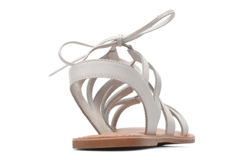 Sandales et nu-pieds I Love Shoes SUGLI Leather Blanc vue droite
