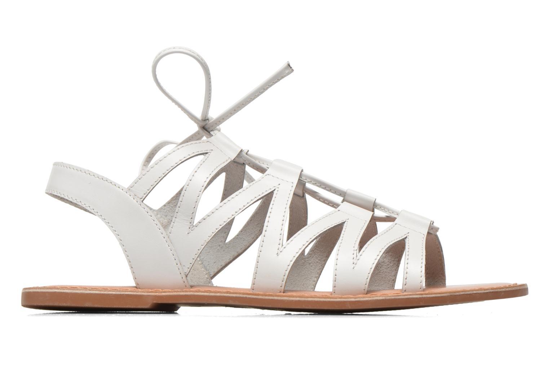 Sandales et nu-pieds I Love Shoes SUGLI Leather Blanc vue derrière