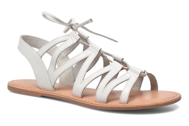 Sandales et nu-pieds I Love Shoes SUGLI Leather Blanc vue détail/paire