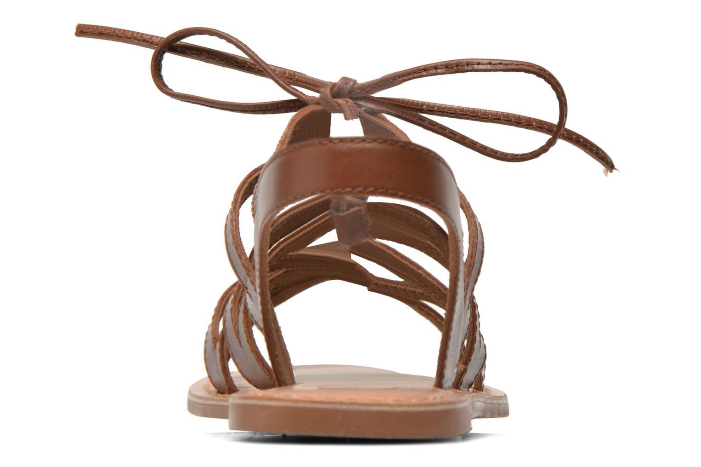 Sandales et nu-pieds I Love Shoes SUGLI Leather Marron vue droite