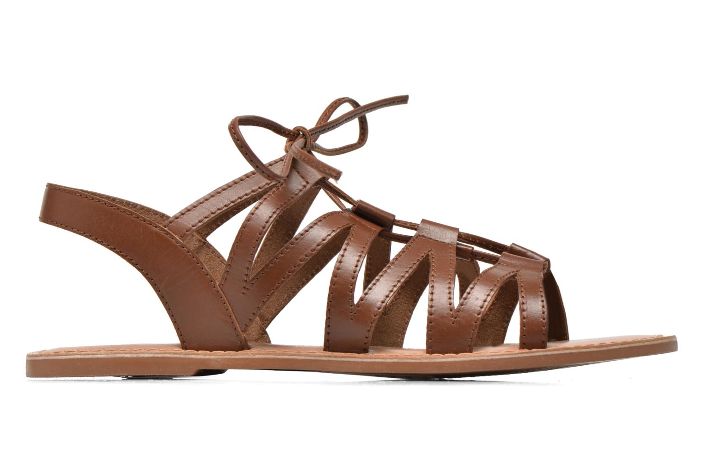 Sandales et nu-pieds I Love Shoes SUGLI Leather Marron vue derrière