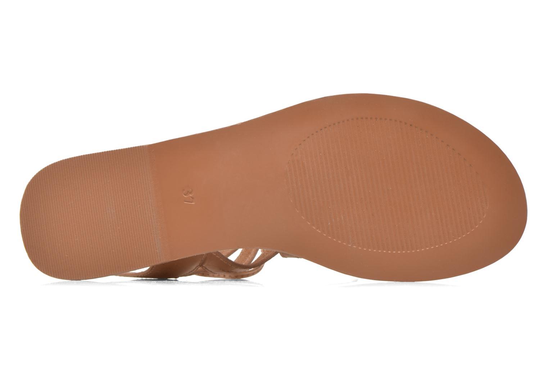 Sandales et nu-pieds I Love Shoes SUGLI Leather Marron vue haut