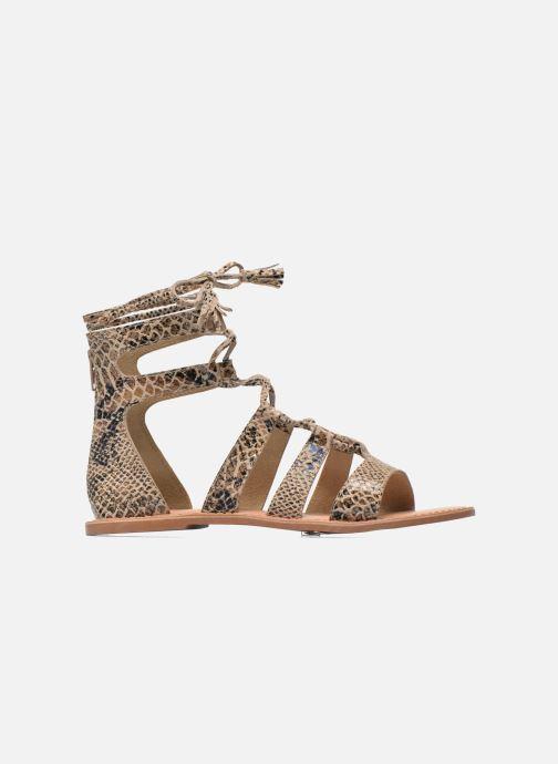 Sandalias I Love Shoes SUGLIHIGH CUIR Beige vistra trasera