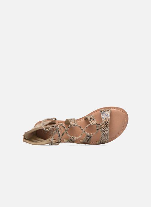 Sandalias I Love Shoes SUGLIHIGH CUIR Beige vista lateral izquierda