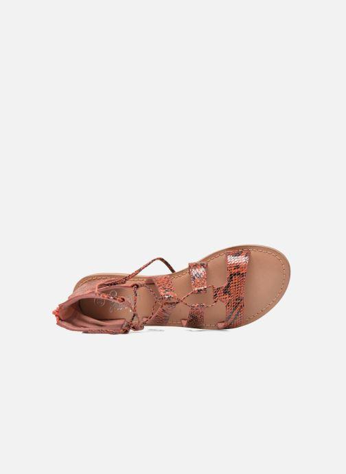 I Sarenza258567 Chez Shoes CuirrojoSandalias Suglihigh Love rdCBeWQxo