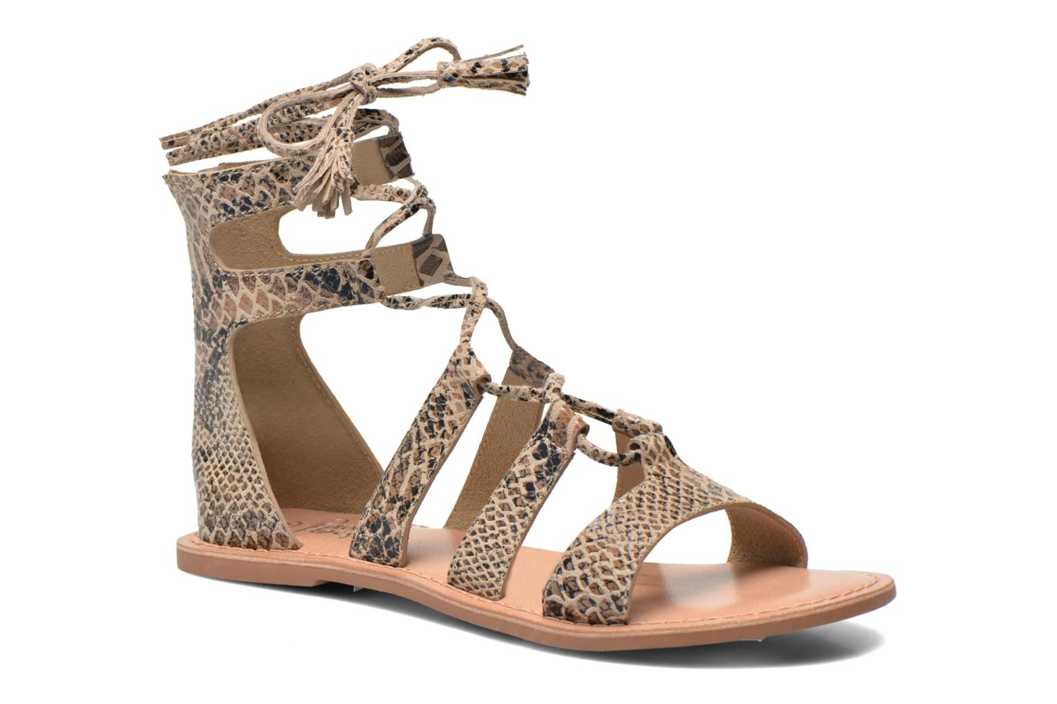 Sandalen I Love Shoes SUGLIHIGH CUIR Beige detail