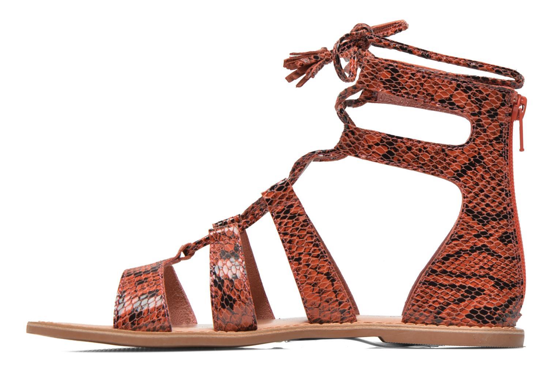 Sandalias I Love Shoes SUGLIHIGH CUIR Rojo vista de frente
