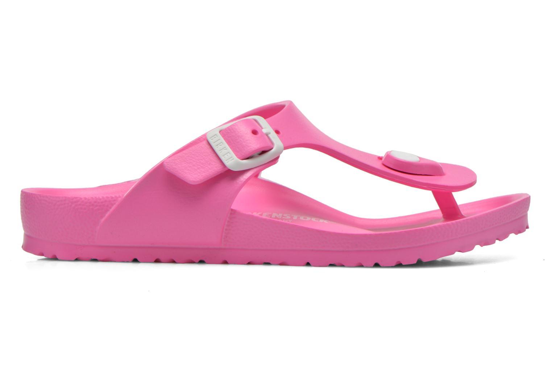 Sandales et nu-pieds Birkenstock Gizeh EVA Rose vue derrière