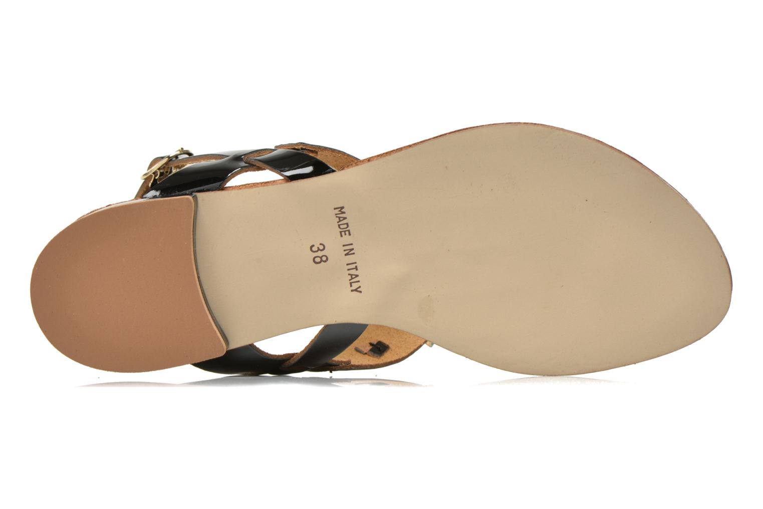 Sandals Georgia Rose Dollie Black view from above