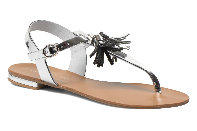 Sandales et nu-pieds Georgia Rose Dormine Argent vue détail/paire