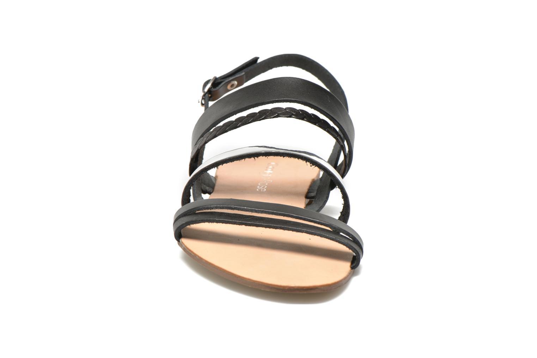 Sandales et nu-pieds Georgia Rose Doloress Noir vue portées chaussures