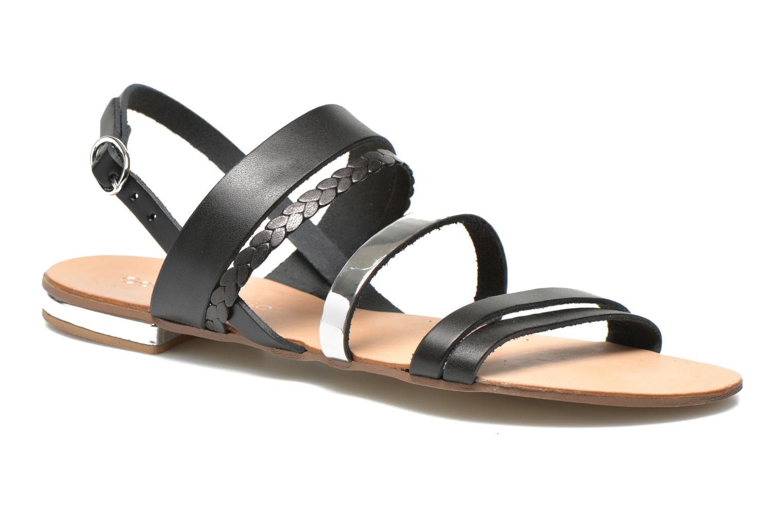 Sandales et nu-pieds Georgia Rose Doloress Noir vue détail/paire