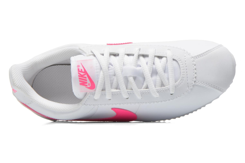 Baskets Nike Nike Cortez (Gs) Blanc vue gauche