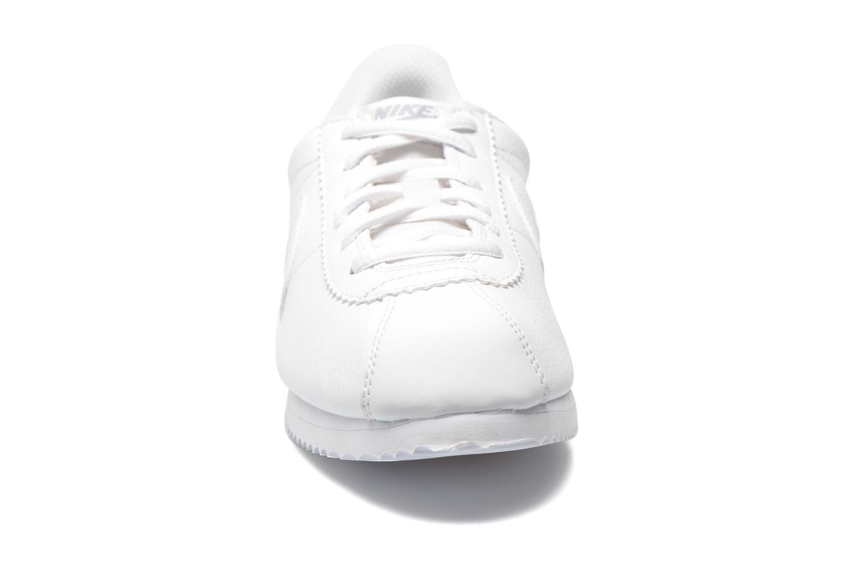 Baskets Nike Nike Cortez (Gs) Blanc vue portées chaussures