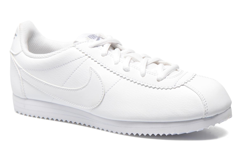 Baskets Nike Nike Cortez (Gs) Blanc vue détail/paire