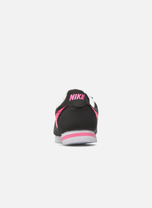 Deportivas Nike Nike Cortez Nylon (Gs) Negro vista lateral derecha