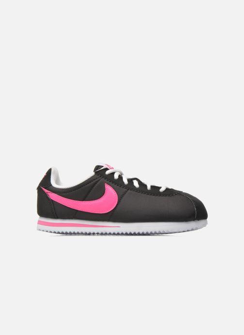 Deportivas Nike Nike Cortez Nylon (Gs) Negro vistra trasera