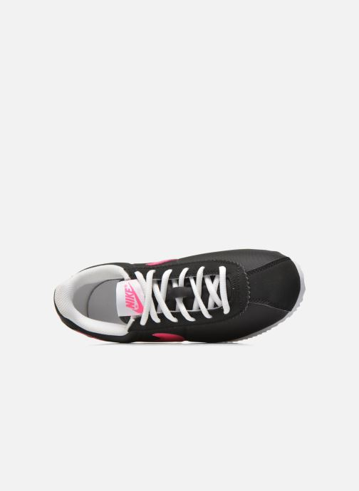 Deportivas Nike Nike Cortez Nylon (Gs) Negro vista lateral izquierda