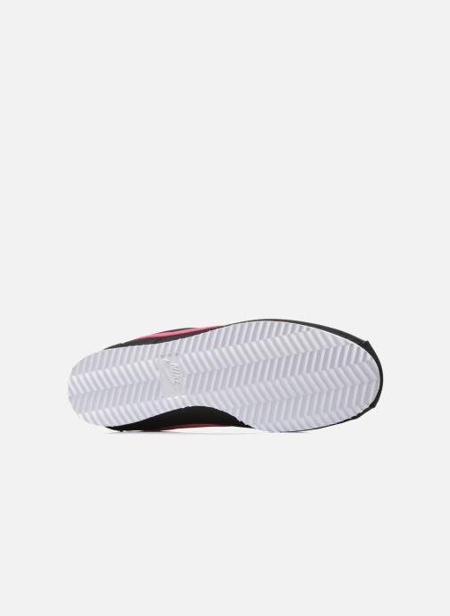 Deportivas Nike Nike Cortez Nylon (Gs) Negro vista de arriba