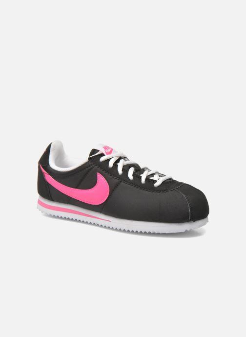 Deportivas Nike Nike Cortez Nylon (Gs) Negro vista de detalle / par