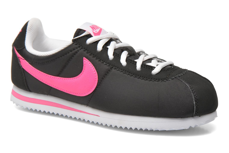 87532025402b buy sneakers nike nike cortez nylon gs sort detaljeret billede af skoene  5ef88 84174