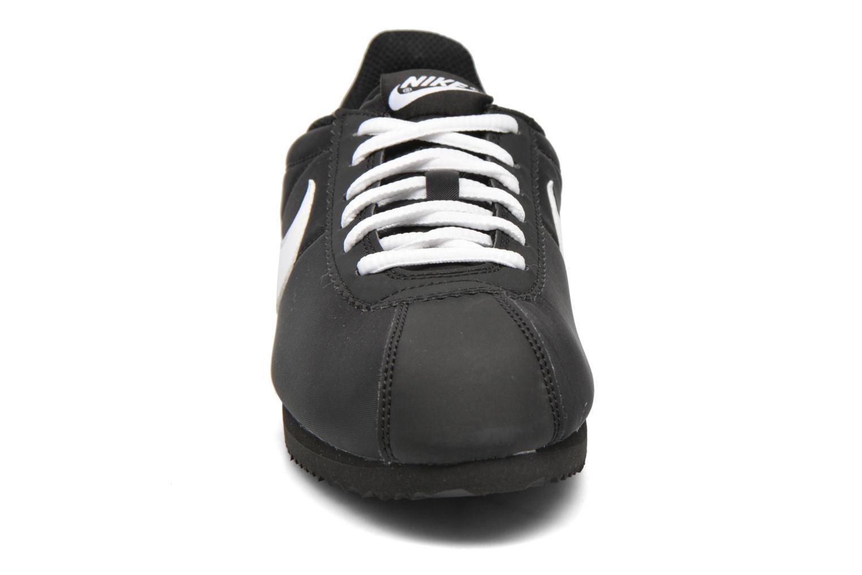 Baskets Nike Nike Cortez Nylon (Gs) Noir vue portées chaussures
