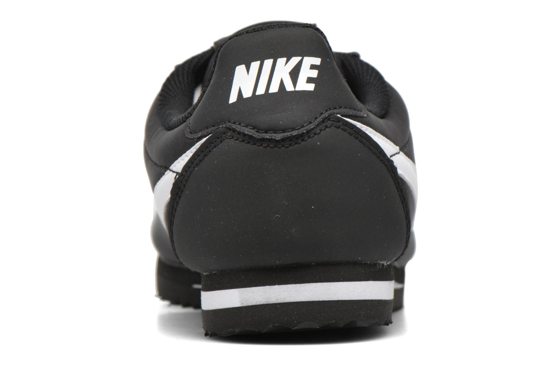 Baskets Nike Nike Cortez Nylon (Gs) Noir vue droite
