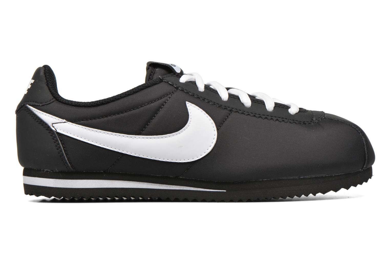 Baskets Nike Nike Cortez Nylon (Gs) Noir vue derrière