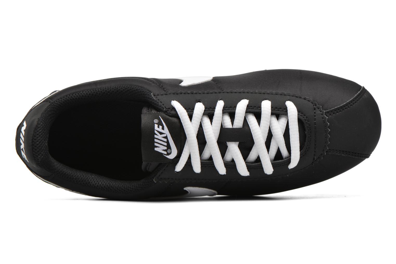Baskets Nike Nike Cortez Nylon (Gs) Noir vue gauche
