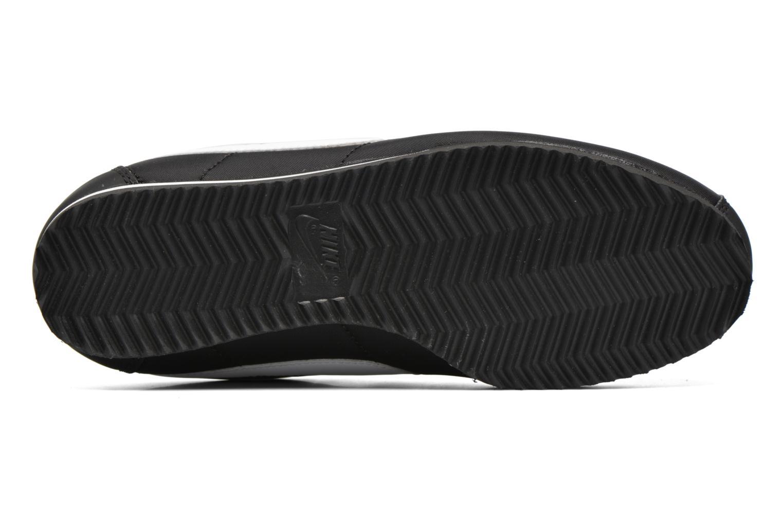 Baskets Nike Nike Cortez Nylon (Gs) Noir vue haut