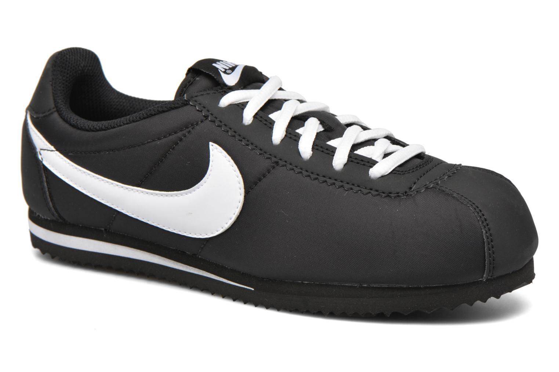 Baskets Nike Nike Cortez Nylon (Gs) Noir vue détail/paire