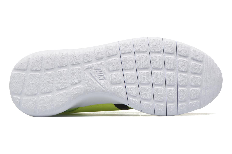 Baskets Nike Nike Roshe One Fb (Gs) Jaune vue haut