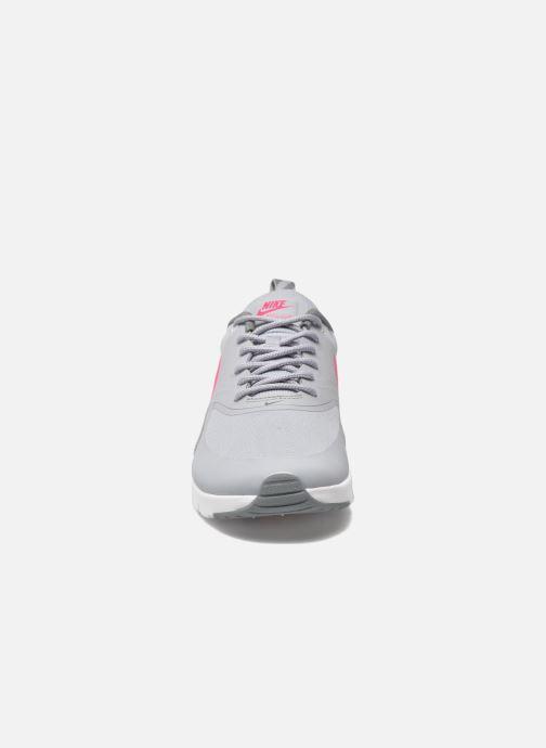 Sneaker Nike Nike Air Max Thea (Gs) grau schuhe getragen