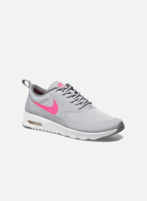 official photos 0614c c9a2c Baskets Nike Nike Air Max Thea (Gs) Gris vue détail paire