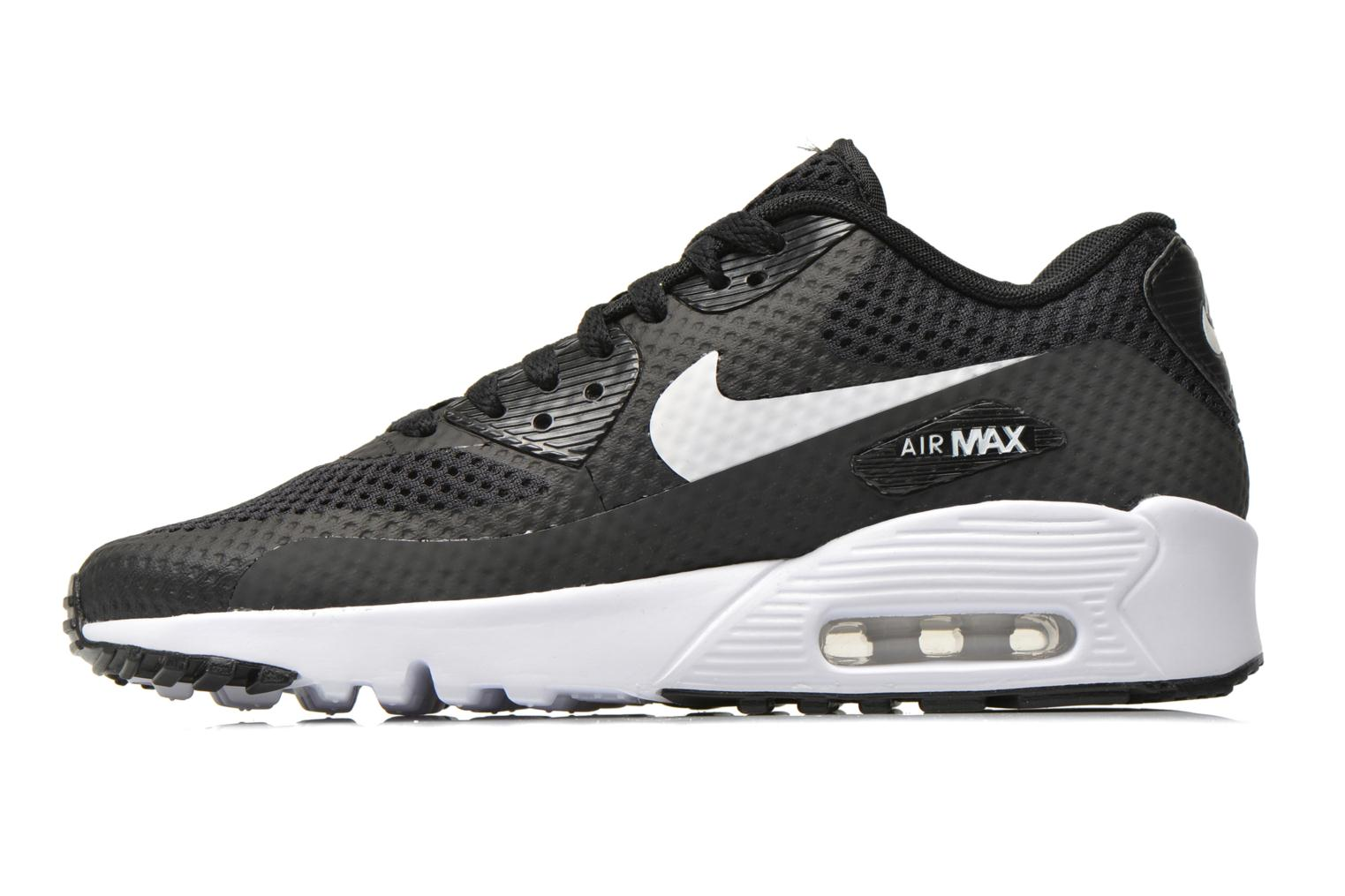 Baskets Nike Nike Air Max 90 Br (Gs) Noir vue face