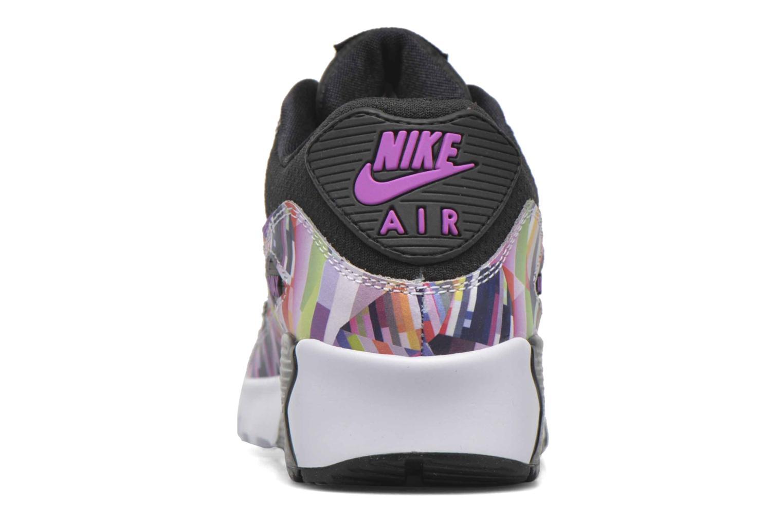 Sneakers Nike Nike Air Max 90 Print Mesh Gs Nero immagine destra
