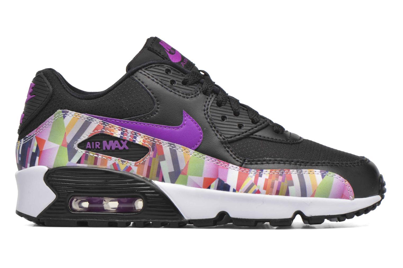 Sneakers Nike Nike Air Max 90 Print Mesh Gs Nero immagine posteriore