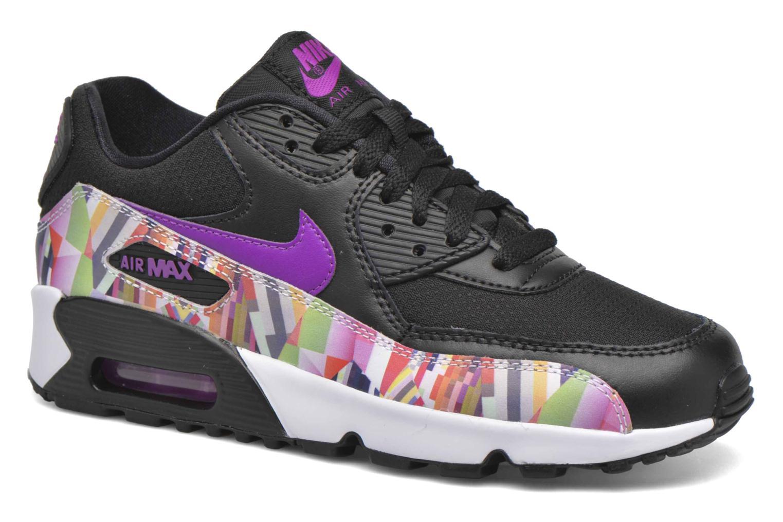 Sneakers Nike Nike Air Max 90 Print Mesh Gs Nero vedi dettaglio/paio