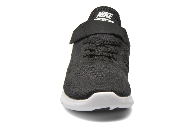 Baskets Nike Nike Free Rn (Psv) Noir vue portées chaussures