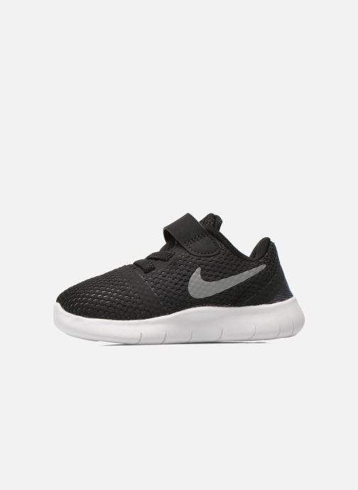 Deportivas Nike Nike Free Rn (Tdv) Negro vista de frente