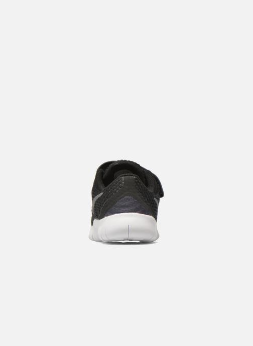 Deportivas Nike Nike Free Rn (Tdv) Negro vista lateral derecha