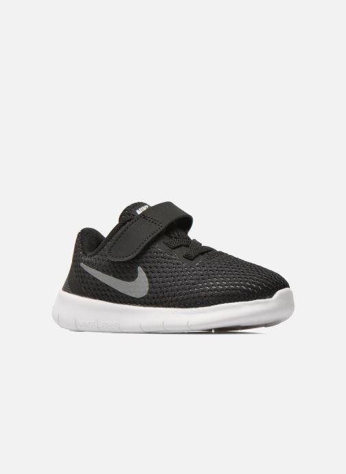 Deportivas Nike Nike Free Rn (Tdv) Negro vistra trasera