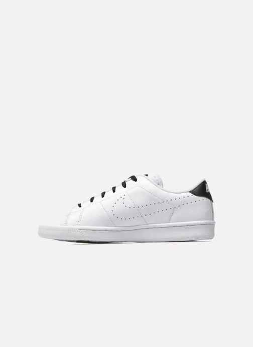 Sneaker Nike Tennis Classic Prm (Gs) weiß ansicht von vorne
