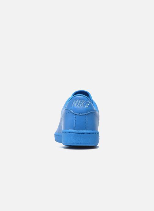 Sneaker Nike Tennis Classic Prm (Gs) blau ansicht von rechts