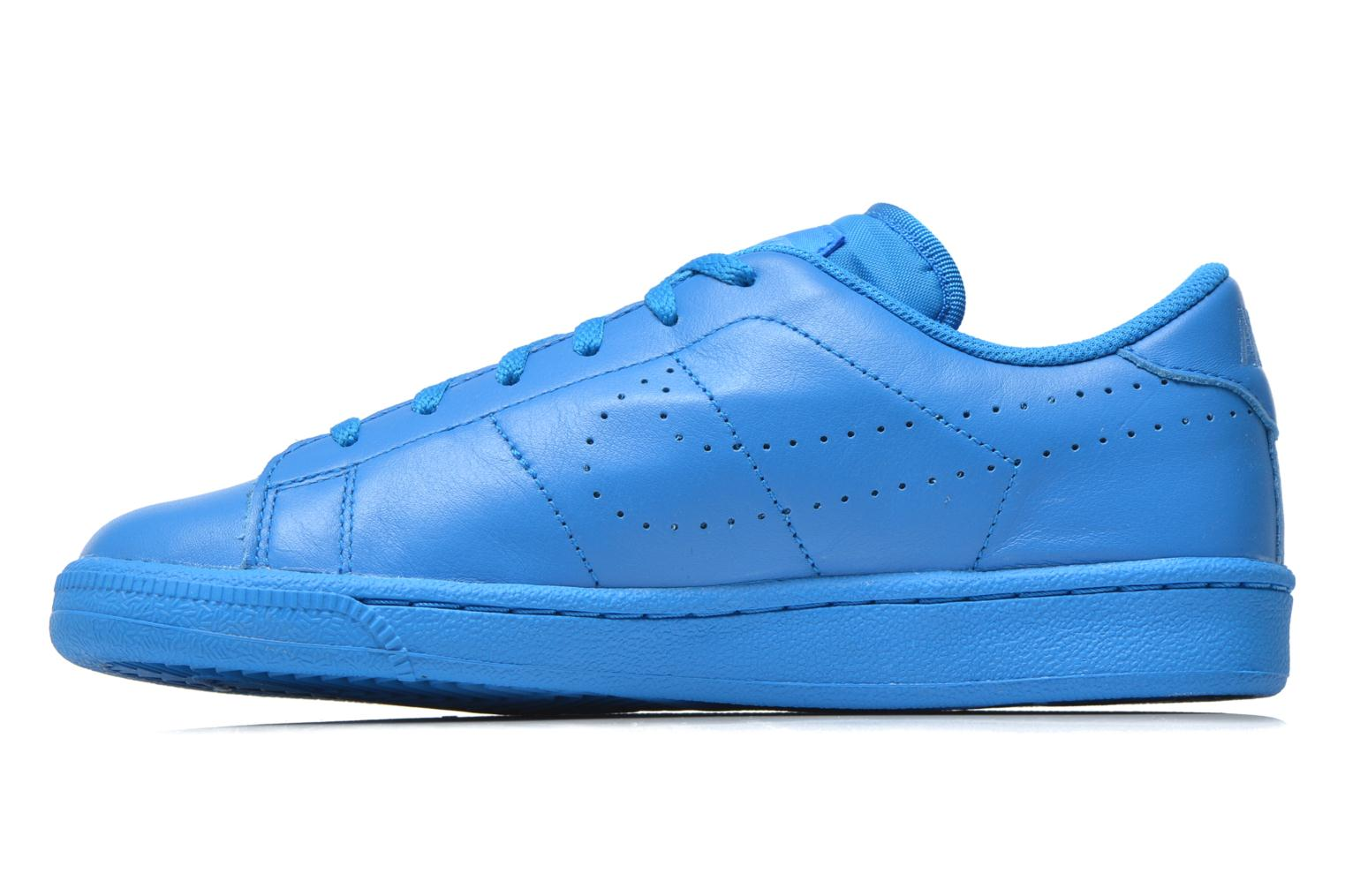 Baskets Nike Tennis Classic Prm (Gs) Bleu vue face