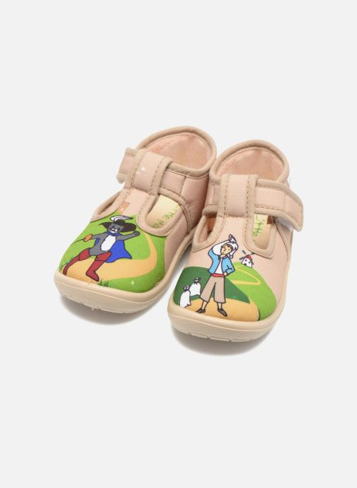 Chaussons Little Mary Sonchat2 Beige vue 3/4