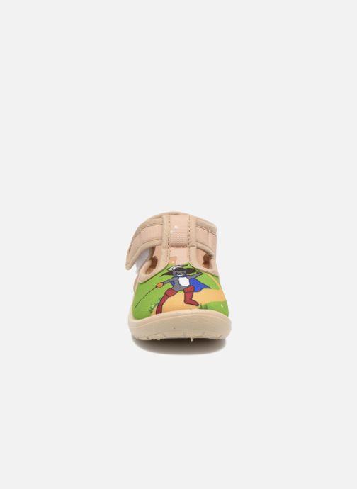 Pantofole Little Mary Sonchat2 Beige modello indossato