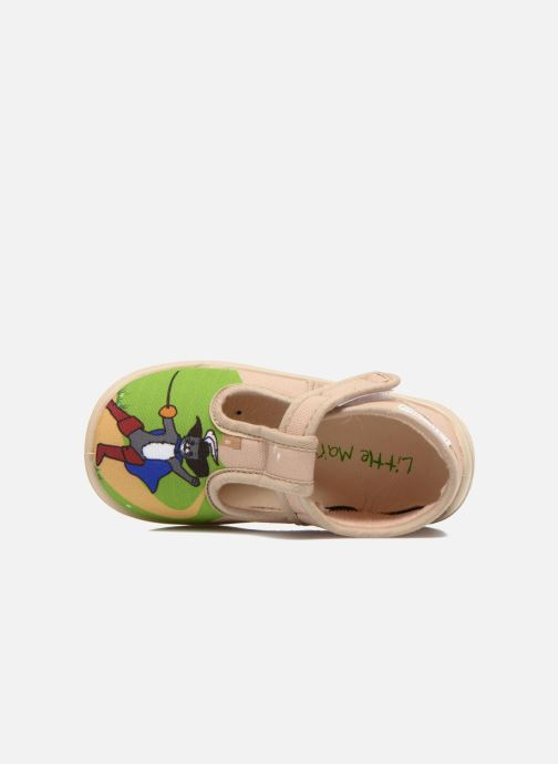 Chaussons Little Mary Sonchat2 Beige vue gauche