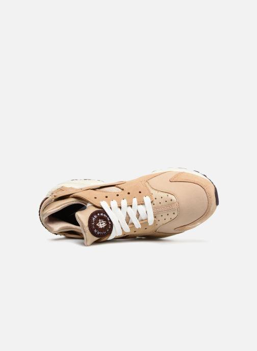 Sneaker Nike Nike Air Huarache Run Prm braun ansicht von links